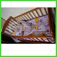 Белье постельное Optovik детское (Мишутки)Бязь