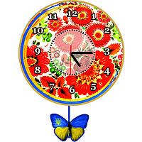Часы настенные с маятником Патриотизм