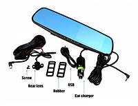 Регистратор- зеркало с камерой заднего вида  Full HD CAR DVR MIRROR - 5 дюймов (без GPS)