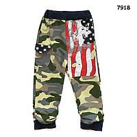 Камуфляжные штаны для мальчика. 90, 100 см