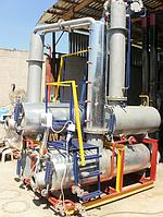 Мини НПЗ для переработки нефти, газового конденсата, их смеси, и продукта  пиролиза