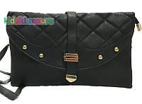 Стильный женский клатч кожзам сумочка женская