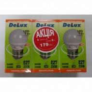 Светодиодная лампа DELUX BL50P 7 Вт 4100K 220В E27 3шт