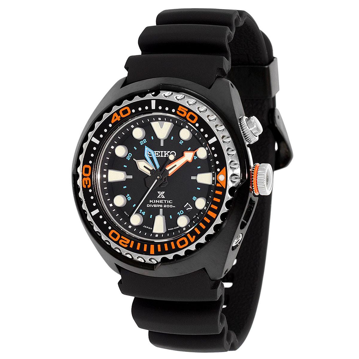 Часы Seiko SUN023P1 Prospex Kinetic Diver's