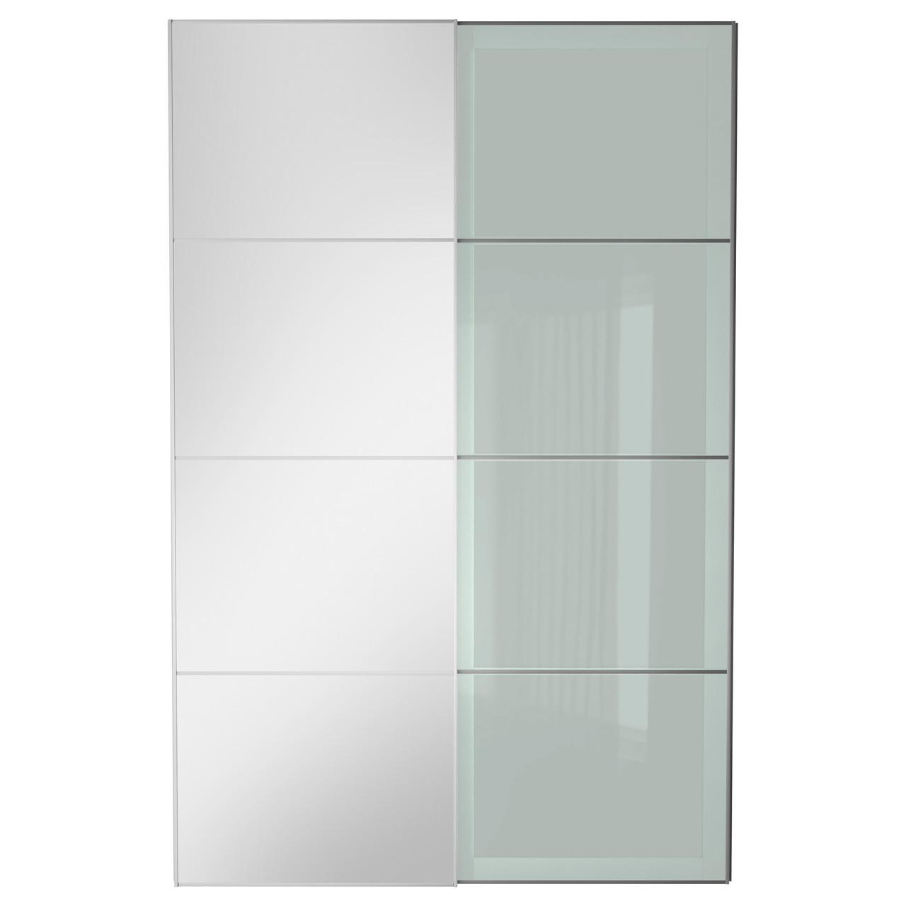 AULI / SEKKEN Пара раздвижных дверей, зеркальное стекло, матовое стекло 899.303.58