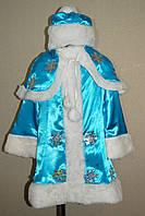 Карнавальный костюм Снегурочка для девочки, фото 1