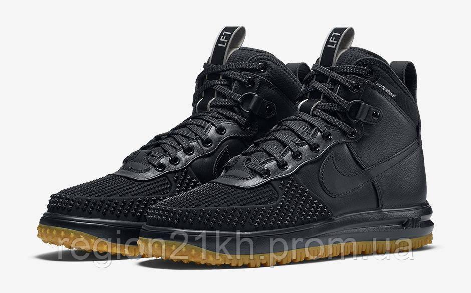 6f285ea5 Кроссовки мужские Nike Lunar Force 1 Duckboot черные купить в ...
