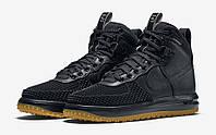 Кроссовки мужские Nike Lunar Force 1 Duckboot Black Gym, фото 1