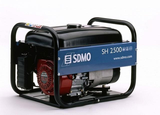 Однофазный бензиновый генератор SDMO SH 2500 (2,2 кВт)