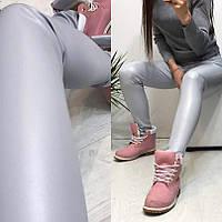 Женские леггинсы 915 ол только серый