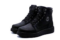 Кожанные мужские зимние ботинки  кроссовки BBP