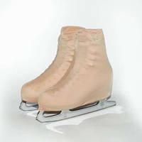 Чехол на ботинок конька (телесные)