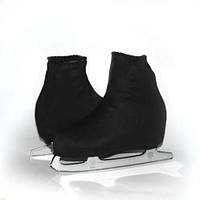 Чехол на ботинок конька (черные)