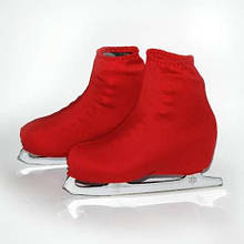 Чехол на ботинок конька (красные)