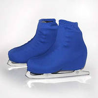 Чехол на ботинок конька (синие)