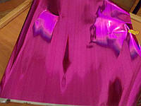 Пленка Металлик малиновая в рулоне
