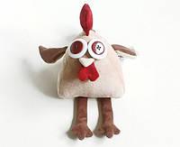 Мягкая игрушка Петушок бежевый