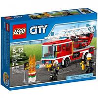 Конструктор Пожарная машина с лестницей Lego