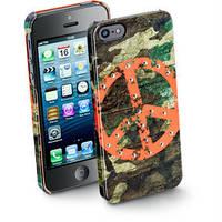 Накладка Swarowski iPhone 5 Peace (SWKPEACEIPHONE5)