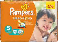 Подгузники PAMPERS SLEEP PLAY JUNIOR 5 (11-18 КГ) 42 ШТ