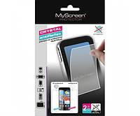 Защитная пленка MyScreen Samsung Galaxy Core Advance I8580 Crystal antiBacterial