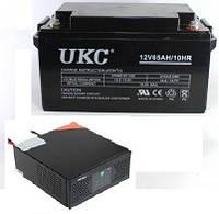 ИБП Intex-400 Вт + АКБ 12В / 65А/ч