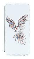 Флип-чехол Florence Samsung Galaxy A3/A300 parrot white