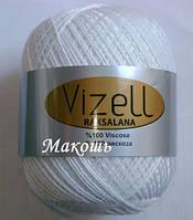 Пряжа для вязания Роксолана Визель, белый