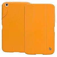 Чехол-книжка JISONCASE Premium Leatherette Smart Case for Samsung Galaxy Tab 3 8 Orange (JS-S31-03H80)