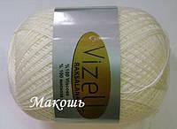 Пряжа для вязания Роксолана Визель, молочный