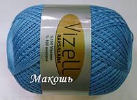 Пряжа для вязания Роксолана Визель, голубой