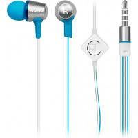 Наушники c микрофоном SVEN SEB-190M, silver-blue
