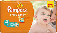 Подгузники Pampers Sleep & Play Maxi 4 (7-14 кг) 50 шт.