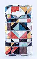 Накладка кожаная Florence LG L60 DualSim X145 витраж