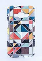 Накладка кожаная Florence Samsung J100 витраж