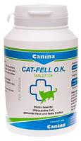 201525 Canina Cat Fell O.K. Tabletten, 100 шт