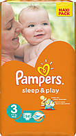 Подгузники Pampers Sleep & Play Midi 3 (4-9 кг) 58 шт.