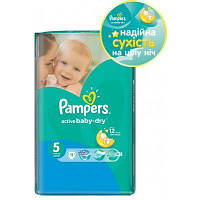 Подгузники Pampers Active Baby-Dry Junior 5 (11-18 кг) 11 шт.