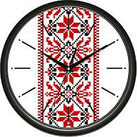 Настенные часы Вышиванка