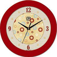 Настенные часы Красный винтаж