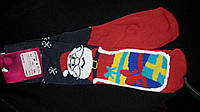 Оригинальные новогодние махровые носки, упаковка (12 шт) 216 грн