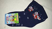 Махровые синие детские носки, р-р 16-18, 20 грн