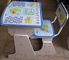 Детская парта со стульчиком трансформер Bambi HB-F2029-01 (стол-парта растишка) синяя.
