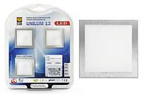 Светильник LED BRILUM UNILUM 13 сатин хром/белый (комплект из 3 шт. и ПРА)
