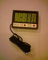 Электронный термометр DC-2 с выносным датчиком и часами