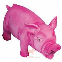 Игрушка для собак, поросенок реалистично хрюкающий Swine (Карли-Фламинго) Karlie Flamingo (Розовый)