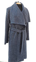 TM Ozze Пальто женское из шерсти Д 346 темно-синее