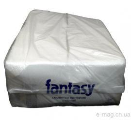 """Салфетки """"Fantasy"""" барные белые 500 листов"""