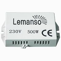 Защита Lemanso для галогенных ламп 220v 500W