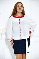 Нарядная блуза в этническом стиле №485